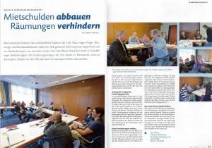 Artikel Forderungsmanagement – LEG intern. Ausgabe 3/2012